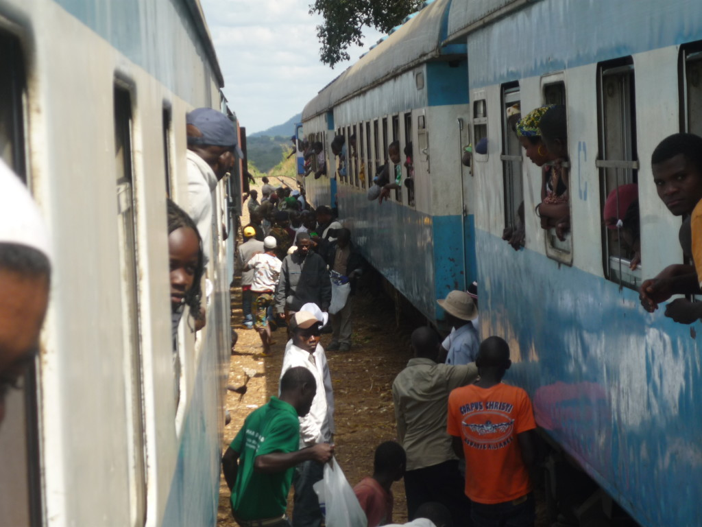 Treno, Mozambico