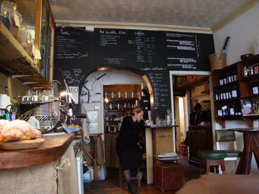 Cafè, Edimburgo
