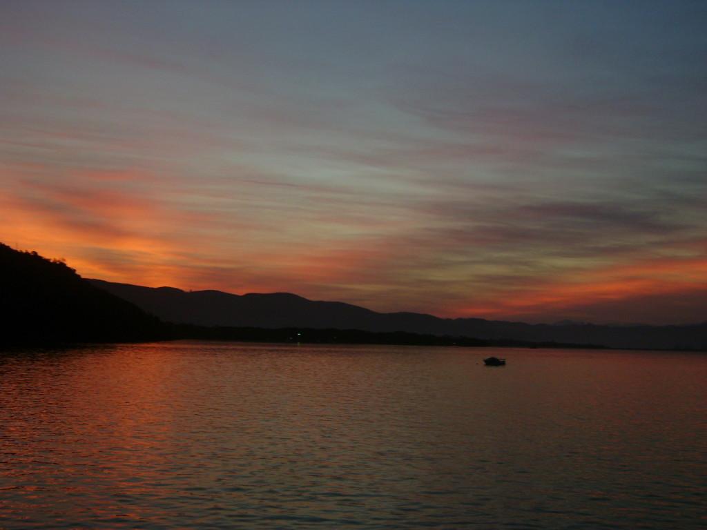 Tramonto, Laguna Knysna