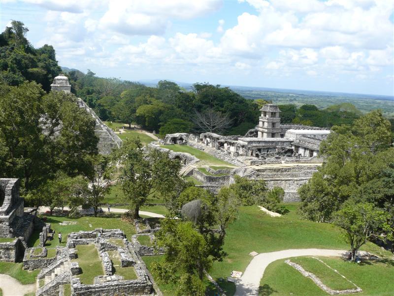 Piramidi, Palenque