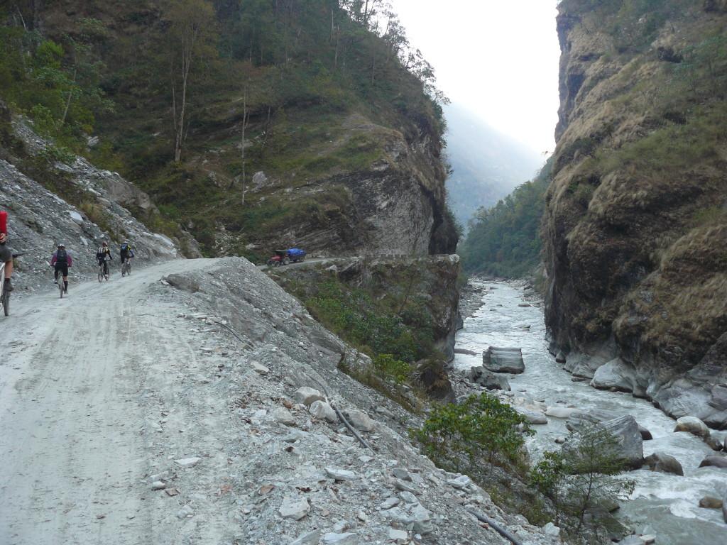 Fiume Kandaki, Nepal