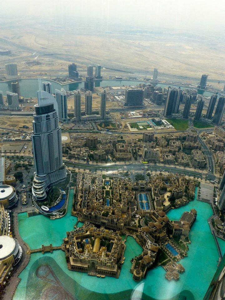 Vista dall'alto, Burj Khalifa