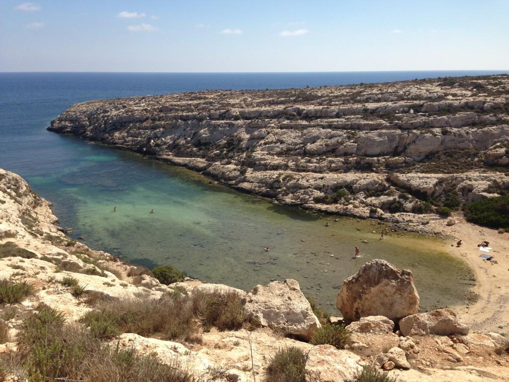 Cala Galera, Lampedusa