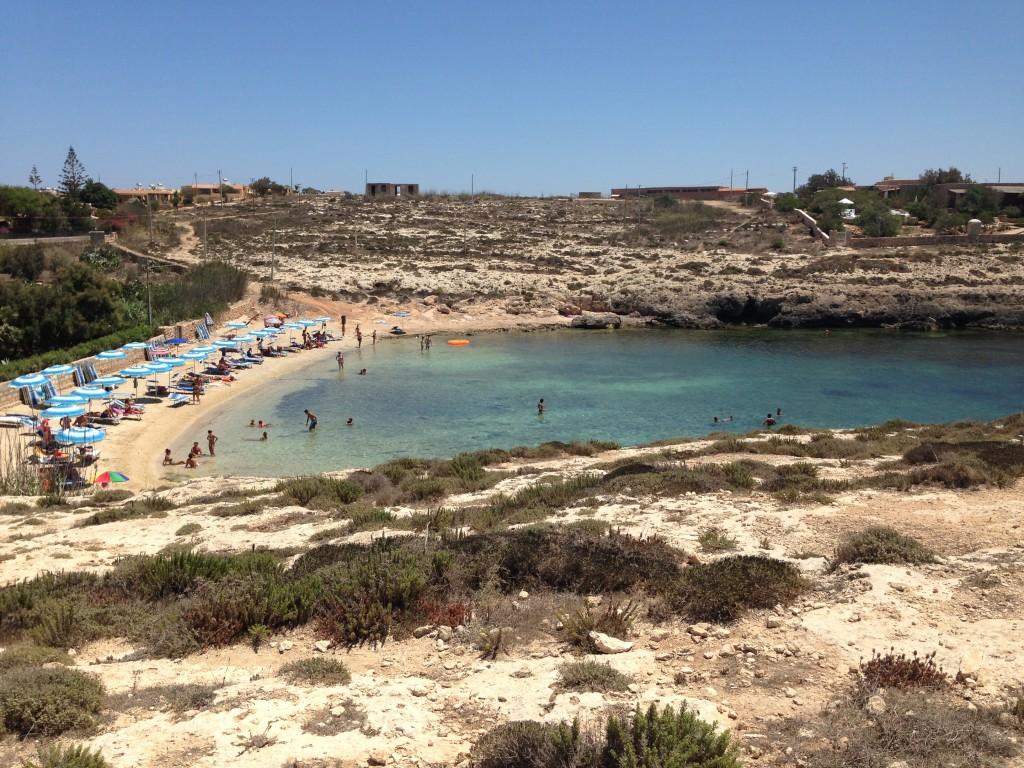 Cala Francese, Lampedusa
