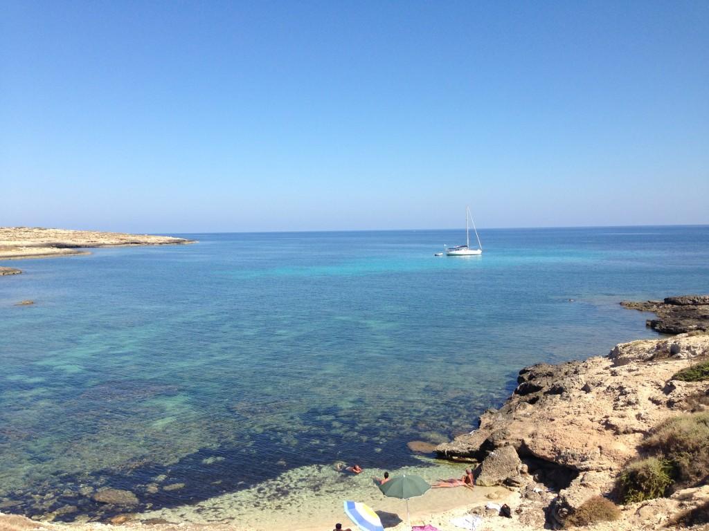 Cala Sponze, Lampedusa