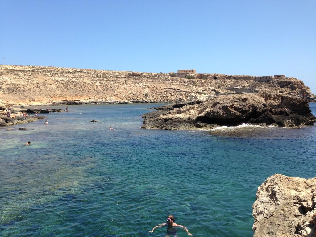 Cala Calandra, Lampedusa