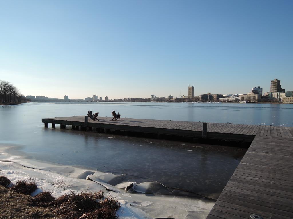 Charles River, Esplanade