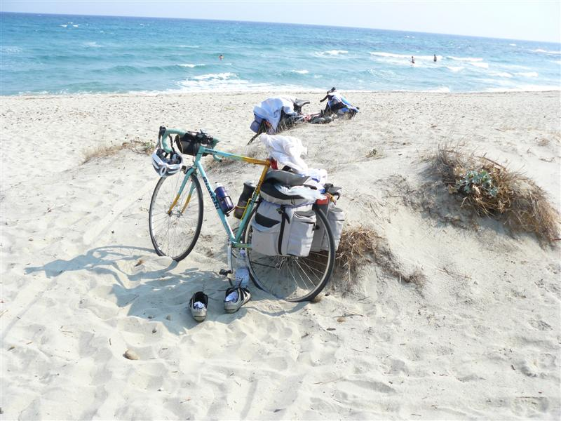 Grecia, Spiaggia, Mountain bike