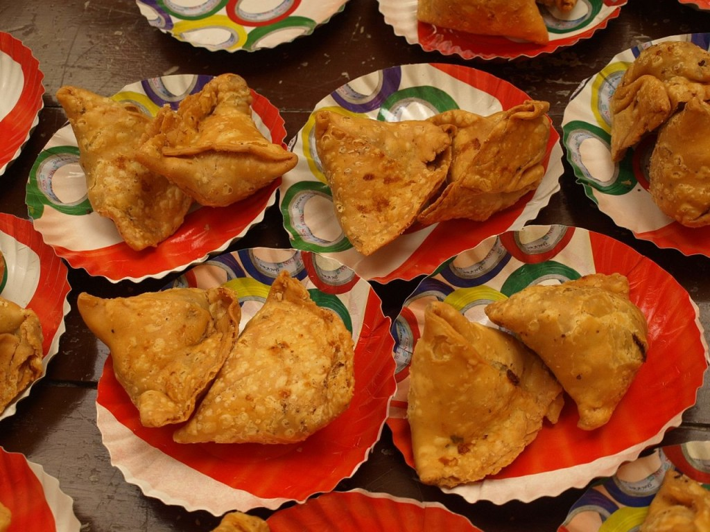 Samosa, Cucina, India