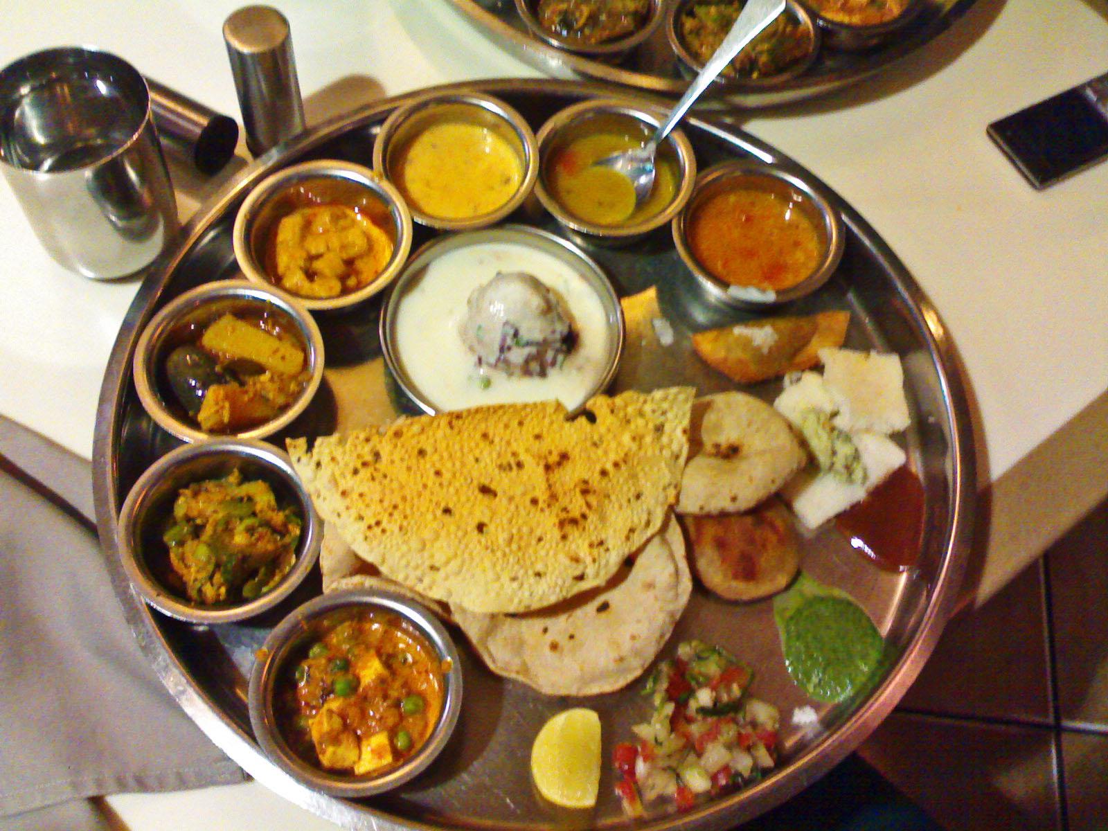 Thali, Cucina, India
