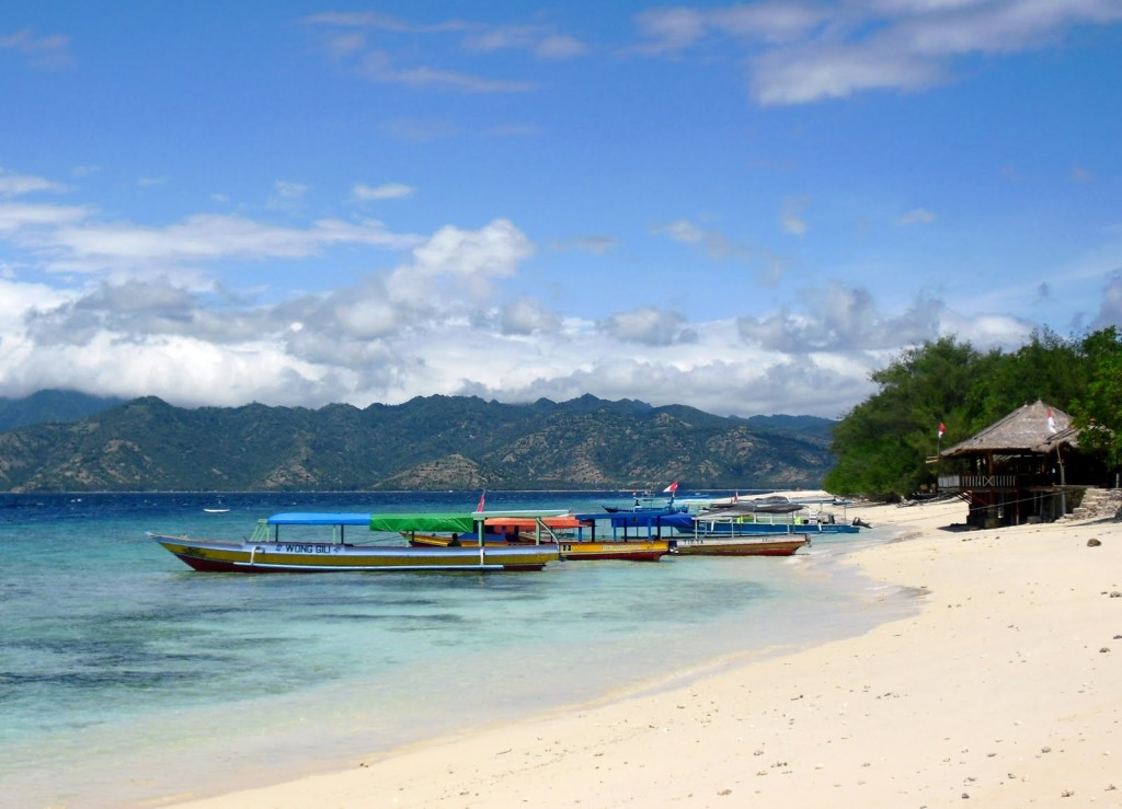 Spiaggia, Isole Gili