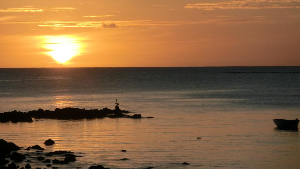 Tramonto, Mauritius, spiagge