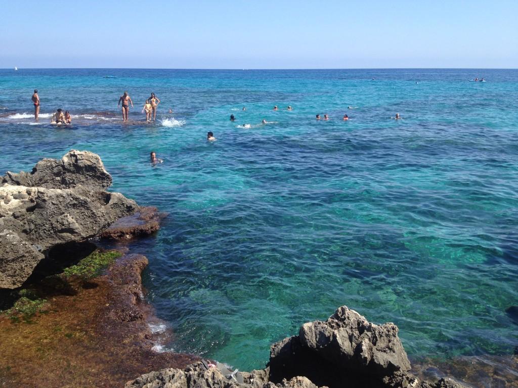 Addaura, Palermo, mare