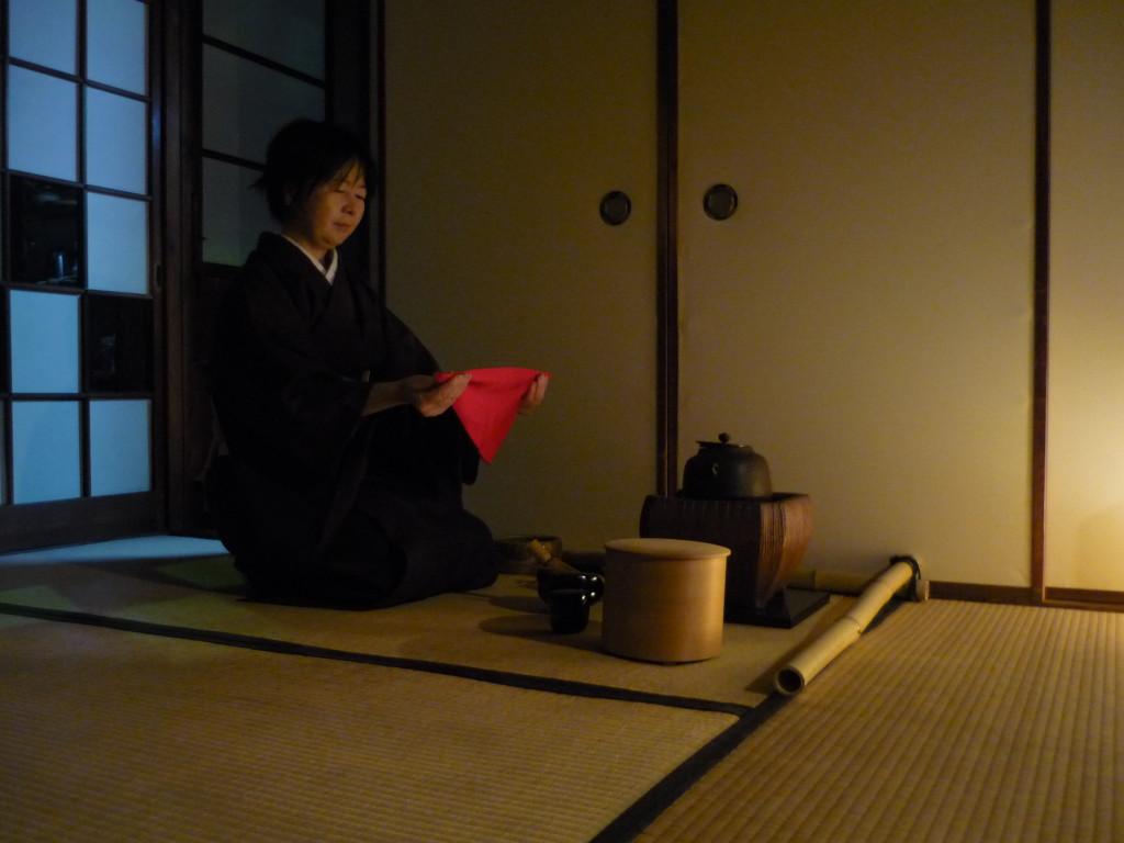 Cerimonia del te, Kyoto