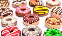 American Breakfast, donuts