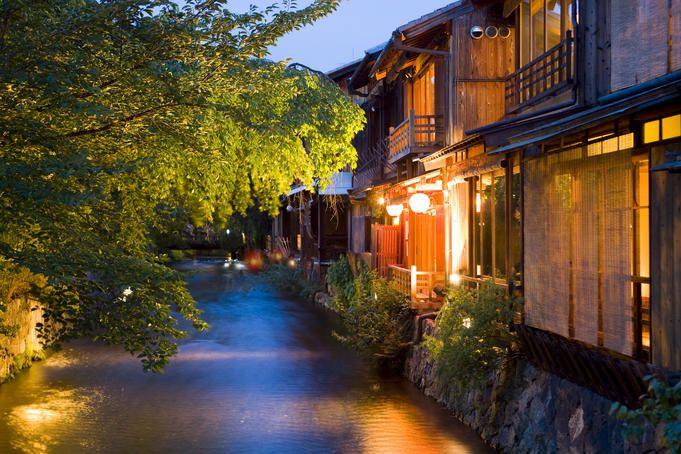 Shinbashi dori, Kyoto