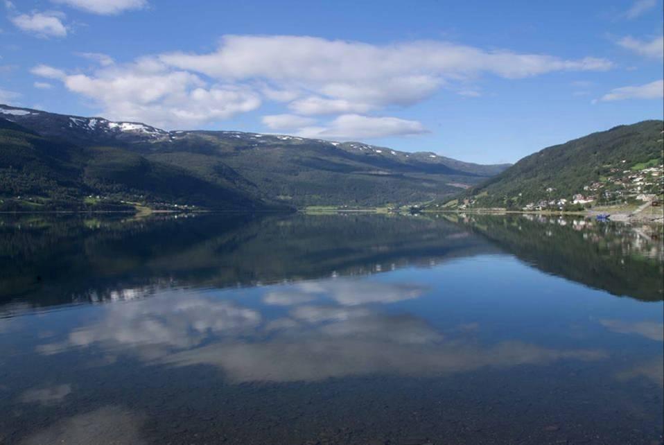 Lago Vossevangen, Norvegia