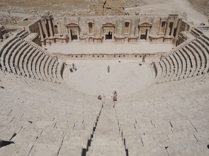 Teatro, Jerash