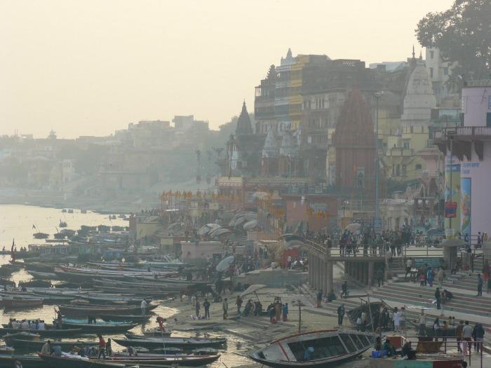 Varanasi, Gange