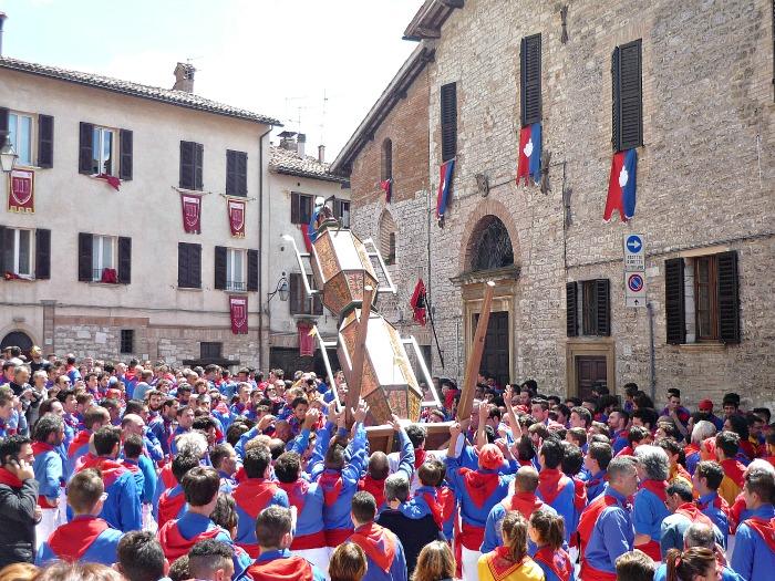 Festa dei ceri, Gubbio
