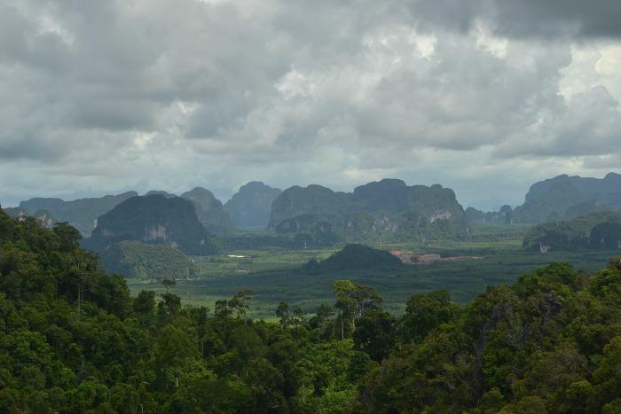krabi hills, thailandia