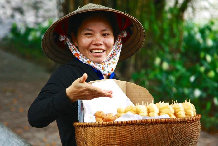 Venditrice ambulante, Vietnam