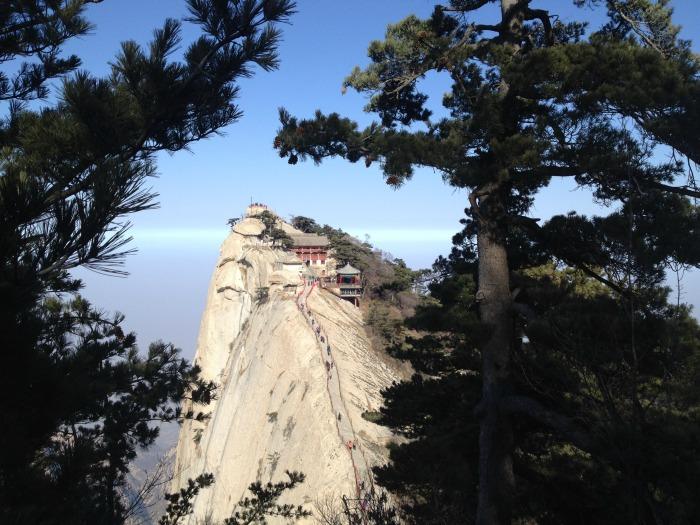 Monte Hua, Cina