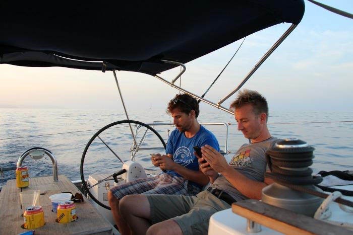 Malta, barca a vela