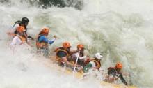 Rafting, Zambesi, Africa