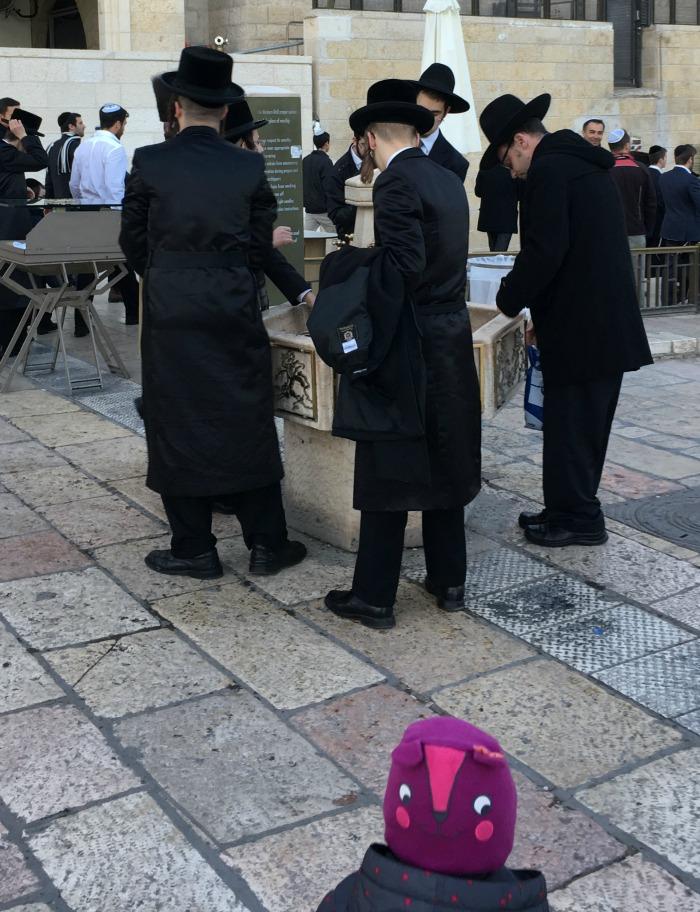 La Sofia tra gli ebrei durante lo Shabbath